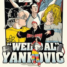 A print art set inspired by Weird Al Yankovic #pop #culture