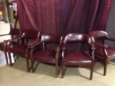 Used Chairs, Oxblood, Wheels, Furniture, Black, Home Decor, Decoration Home, Black People, Room Decor