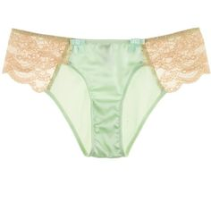Myla Isabella Mini ($90) ❤ liked on Polyvore featuring intimates, panties, lingerie, underwear, undies, underwear panties, lacy lingerie, underwear lingerie, lace panties and lace panty