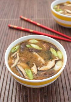 Miso soup is a staple in my diet! I make it hearty with lots of veggies, beans and soba noodles. Add canned tomatoes or curry and coconut milk to spice it up!