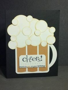 Beer Cheer Birthday by zipperc98 - Cards and Paper Crafts at Splitcoaststampers
