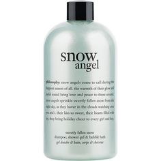 Philosophy 'snow Angel' Shampoo, Shower Gel & Bubble Bath (Buy & Save) (€15) ❤ liked on Polyvore featuring beauty products, gift sets & kits, beauty and bubble bath