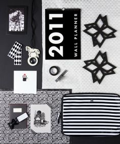 Black and white and graphic // Styling by Finnish Jenni Juurinen. Photo by Jorma Marstio.