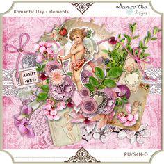 Romantic Day elements