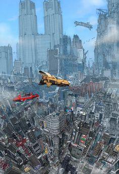 city future scape