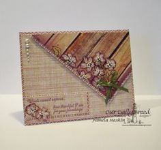 Stamps - Our Daily Bread Designs	No Words, ODBD Rustic Beauty Paper Collection