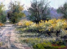 In The Bright by Margi Lucena Pastel ~ 9 x 12