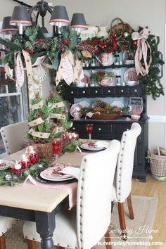 A Farmhouse Christmas Tour at The Everyday Home