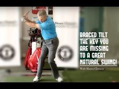 Golf Swing | Braced Tilt Key You Are Missing In Your Golf Game - YouTube