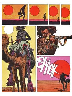 A beautiful designed page. Toppi