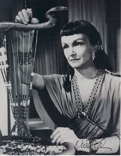 Bithiah's loom was made to look authentic for the period. DeMille wanted everything that way.