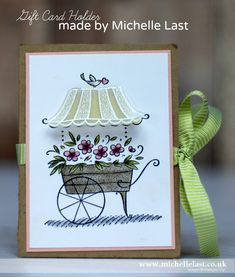 Friendship's Sweetest Thoughts   Gift Card Holder made by Michelle Last