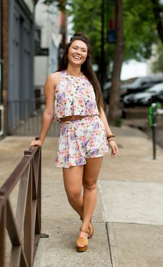 After Hours Flower Shorts