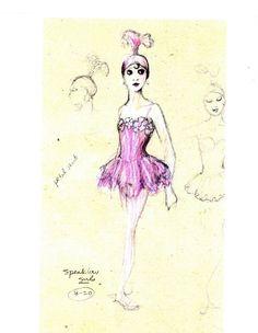 Martin Pakledinaz costume design for Kent Stowell's Zirkus Weill