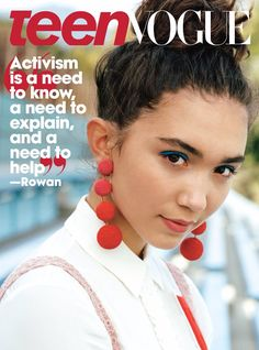 Rowan Blanchard // Teen Vogue Magazine