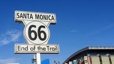 Santa Monica, Kalifornien ist der Endpunkt der Route 66 und zugleich das Ende der 16-tägigen Reise von Chicago. #usamietwagentips #usa #route66 [Foto: Pixabay]
