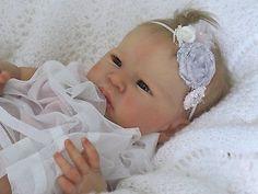 DOVES NURSERY ~Reborn Newborn Realistic Baby Girl ~ Louise Sculpt ~ Adrie Stoete