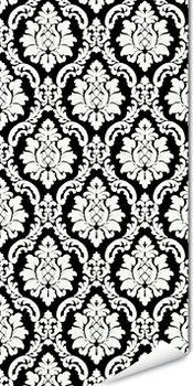 Papier peint vinyle BONNIE coloris noir