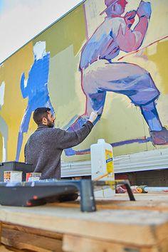 Street Mural, Street Art Graffiti, Painting Inspiration, Art Inspo, Beach Mural, Graffiti Drawing, Grafiti, Truck Art, Street Artists