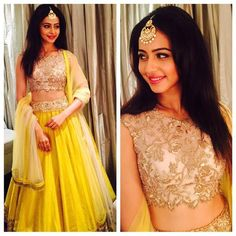 rakulpreet in anushree reddy