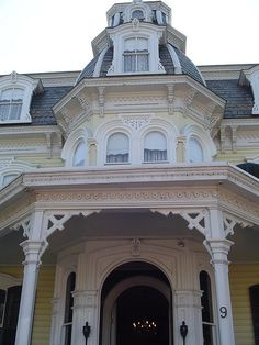 The Mansion Inn, New Hope, Pennsylvania - Detail. (circa 1865)