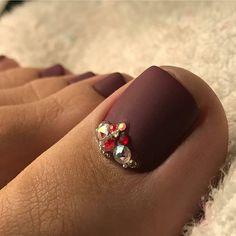 New Pedicure Designs Diy Pretty Toes Ideas Shellac Pedicure, Pedicure Colors, Pedicure Designs, Toe Nail Designs, Manicure And Pedicure, Pedicure Soak, Pink Nail Art, Toe Nail Art, Toe Nails