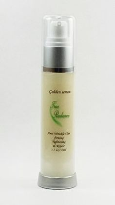 GOLDEN SERUM 50ml17oz Skin tightening firming and sagging prevention Also has 20 Argireline DMAE APT Red marine Algae Pepha tight Hyaluronic acid Vitamin A retina Vitamin C and Syncoll Peptides plus much more >>> Read more reviews of the product by visiting the affiliate link Amazon.com on the image.