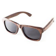 Handmade Bamboo Wayfarer Sunglasses Dark Grain por ShadesofBamboo, $49.00 COOL!! ORIGINAL AND BARGAIN!!!