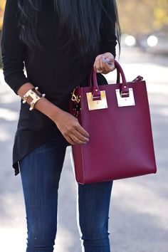 Sophie Hulme Structured Bag