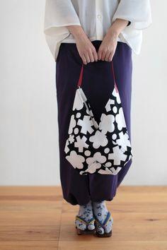 SOU・SOU 布袋 合切袋 穏(がっさいぶくろ おだやか) - 手提げ鞄の登場です!