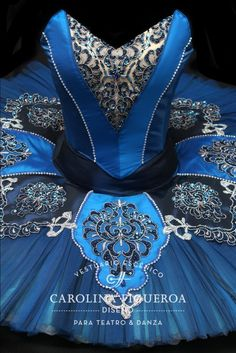 Tutu · Pájaro Azul · Blue Bird · Ballet · La Bella Durmiente · Sleeping Beauty · Costume Designer · Diseño de Vestuario: Ana Carolina Figueroa
