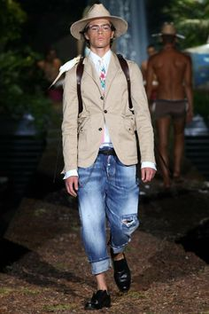 Toya's Tales The Male Advantage - DSQUARED 2 Inspiration SHANGRI-LA (Spring/Summer 2014)