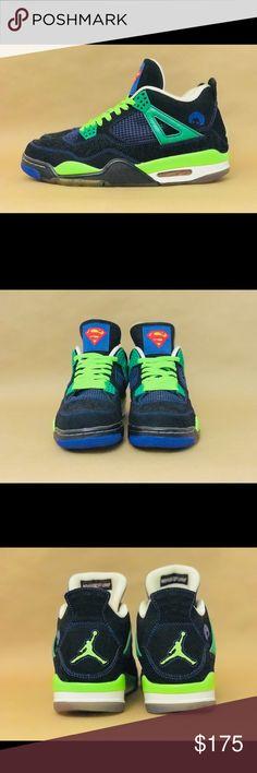 ce0b7e980c4ad9 Air Jordan 4 Retro Doernbecher worn 2011 release comes with box Mens air  jordan 4 IV retro doernbecher superman Jordan Shoes Sneakers