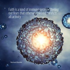 Faith is immune system