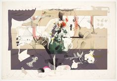 'Seminar (in Collaboration with Richard Hamilton)', Dieter Roth, 1971 Richard Hamilton Artist, Dieter Roth, Architecture Drawings, Collage Art, Collages, Mixed Media Art, Printmaking, Collaboration, Screen Printing