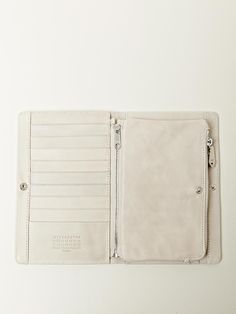 men's long flip wallet / maison martin margiela