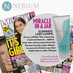 #Hollywood411  Look whose making the headlines... Again!   #NeriumFirm has found it's way to the pages of #Life& #Style #Magazine   Yup, our latest product launch is creating another #HollywoodBuzz #MiracleInAJar   Just another Clue!   http://www.nerium.com/christinemcgehee3/Results/nerium-firm  Antiagingfanatics WantflawlessskinJaded (the Boutique)Skinetics' Inc.Greater Shreveport Chamber of