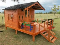 The patio cabin is looking like a small house; it can be created if the person loves to host parties because it will allow a separate place to enjoy with the friends. The roof of the home is created in a hut style and it is covered with the steel sheet.