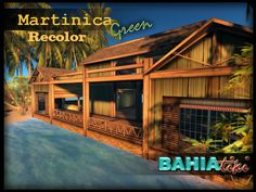 Martinica Tropical House had a fresh coat of paint, this time, Green,as requested by many customers! Check it out in world!