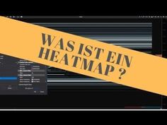 Was ist ein Heatmap ? A.k.a Dom Levels beim ATAS 29 Years Old, Technical Analysis, Training, Earn Money, Sustainability, Psychology