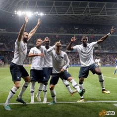 France's fortnite game is strong How far will they go this summer? - - - #france #griezmann #pogba #rami #dembele #friendly #worldcup #worldcup18 #worldcup2018 #russia #90min