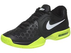 Nike Air Courtballistec 4.3 Black/Volt Men's Shoe