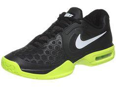 Nike Air Courtballistec 4.3 Black/Volt Men's Shoe