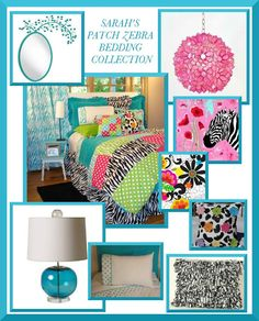 Girls room decor ideas- How do I decorate Zebra Print Bedroom for my girl?