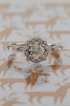 b1f4df41b3a09 28 Best Square Engagement Rings images in 2017 | Square engagement ...