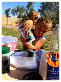 Making Volcanoes with Preschoolers - Spell Out Loud