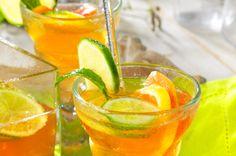 Cocktail pétillant aux 3 agrumes • Juliet, c'est bon, c'est bio