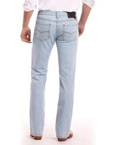 a1d21f9a Rock and Roll Cowboy Men's Blue Revolver Jeans - Straight Leg - M1R7406  #fashion #