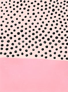 Polka dots and pink, any girly girl's two besties! Cute Backgrounds, Cute Wallpapers, Wallpaper Backgrounds, Iphone Wallpaper, Surface Pattern, Pattern Art, Surface Design, Pattern Design, Pastel Pattern