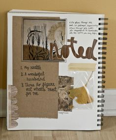 Tell Your Story - Noted by Caitidid Designs, via Flickr